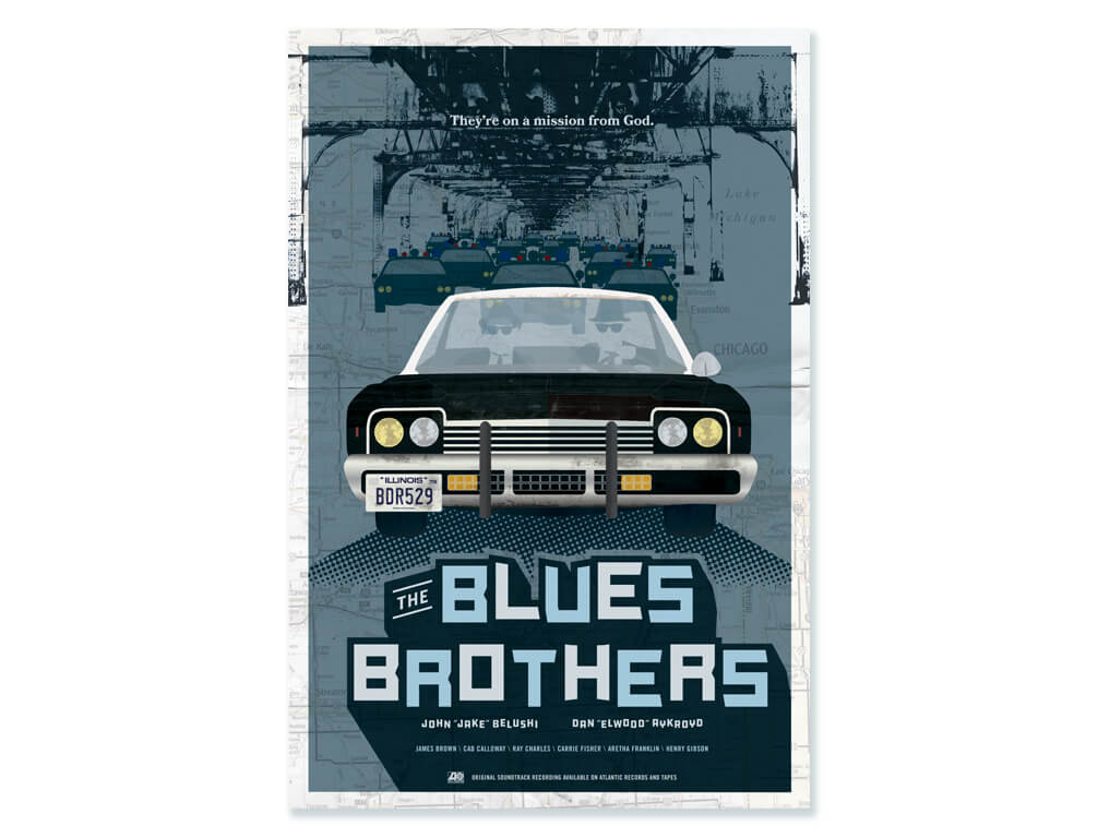 BPS Blues Brothers poster