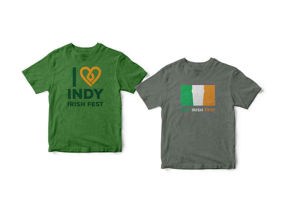 Indy Irish Fest - t-shirts